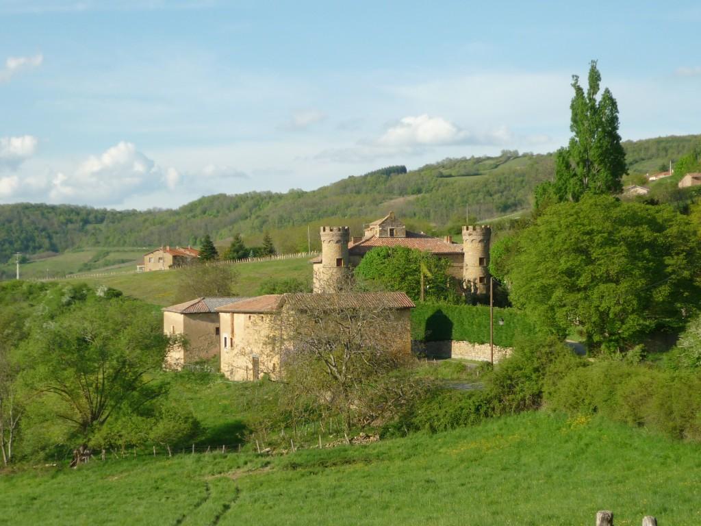 Oingt château de Prony