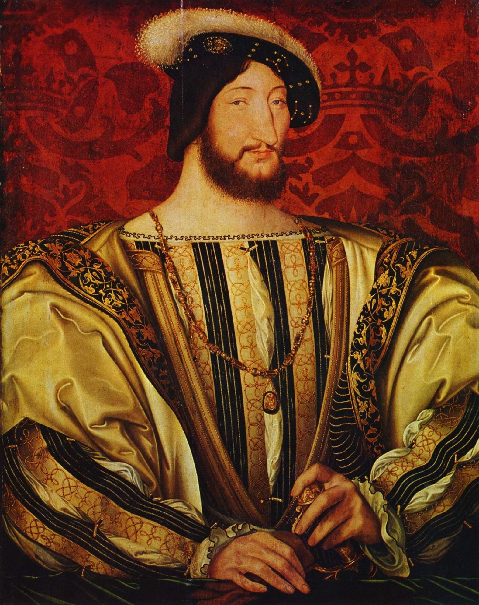 Jean_Clouet François 1er